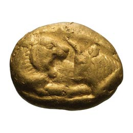 565-546 BC. Heavy Gold Stater, ...
